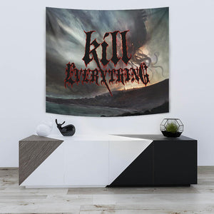 Officially Licensed Kill Everything - Scorched Earth Tapestry