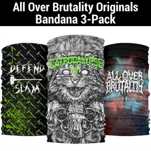 All Over Brutality Originals Bandana Triple Pack