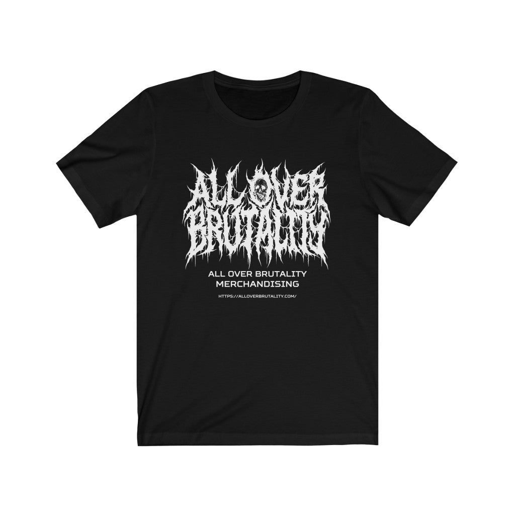 Official All Over Brutality Logo Tee (Black)