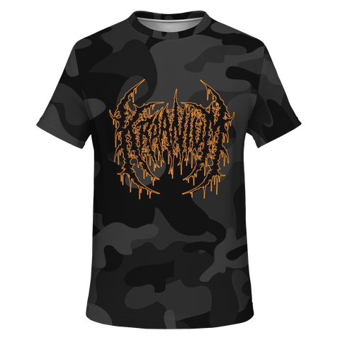 Officially Licensed Kraanium Black Camo Tee