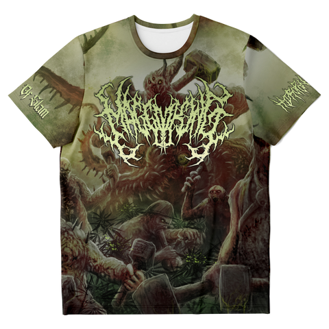 Officially Licensed Maggot King - Soldiers Of Slam All Over Tee