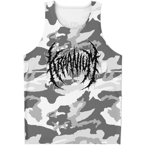 "Officially Licensed Kraanium ""Snow Camo"" Tank Top"