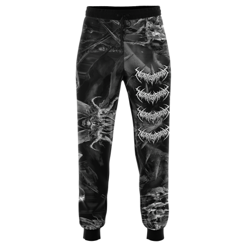 Officially Licensed NecroticGoreBeast Joggers (B&W)