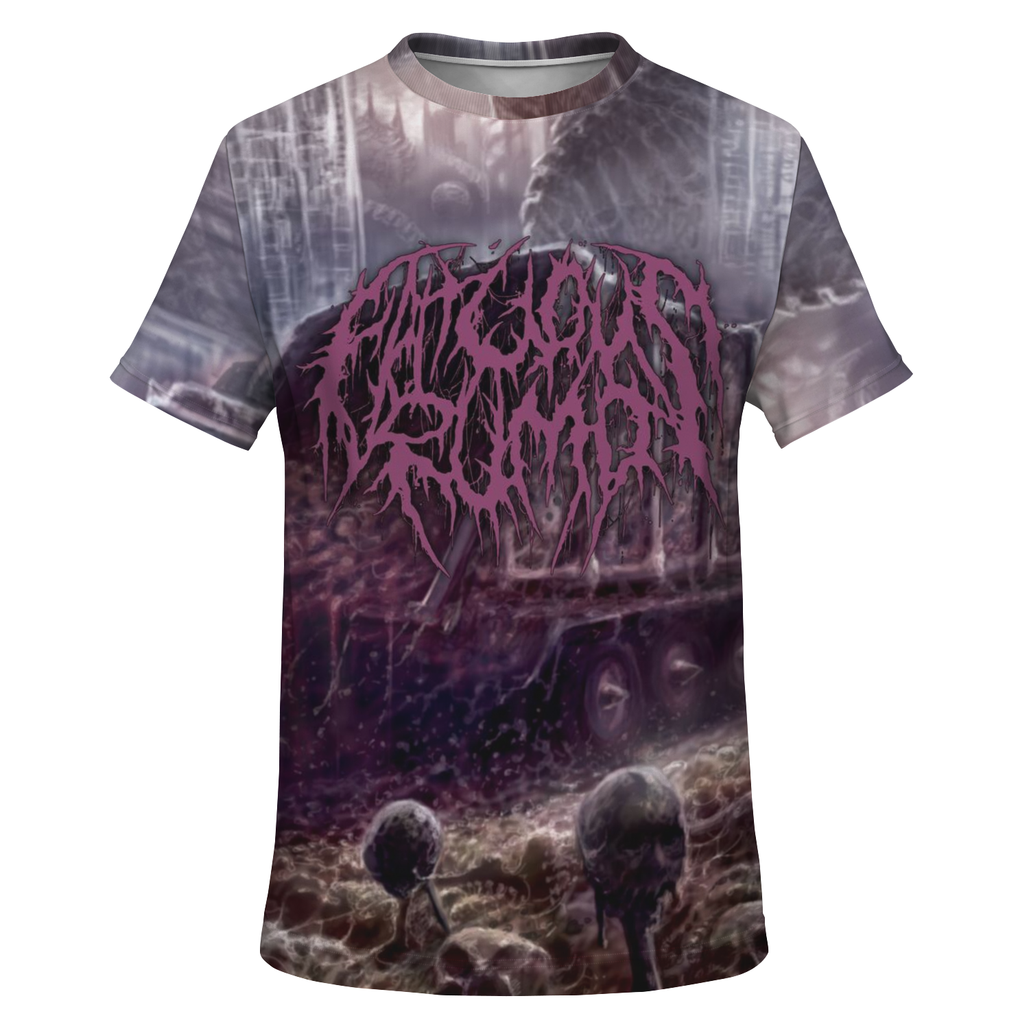 Officially Licensed Fatuous Rump - Disposing Slobs Of Corporal Fatberg All Over Tee
