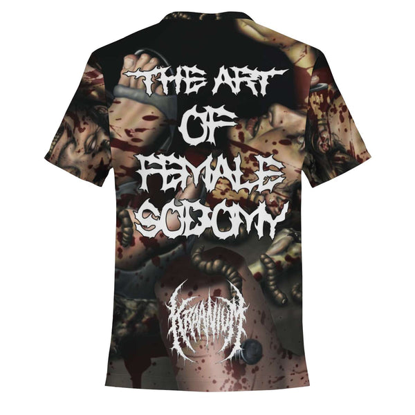 Officially Licensed Kraanium - The Art Of Female $odomy All Over Tee