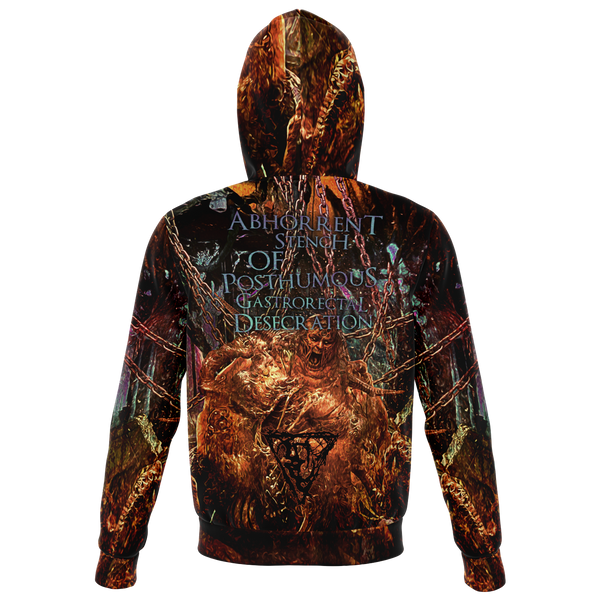 Officially Licensed Epicardiectomy - Abhorrent Stench of Posthumous Gastrorectal Desecration Zip-Up
