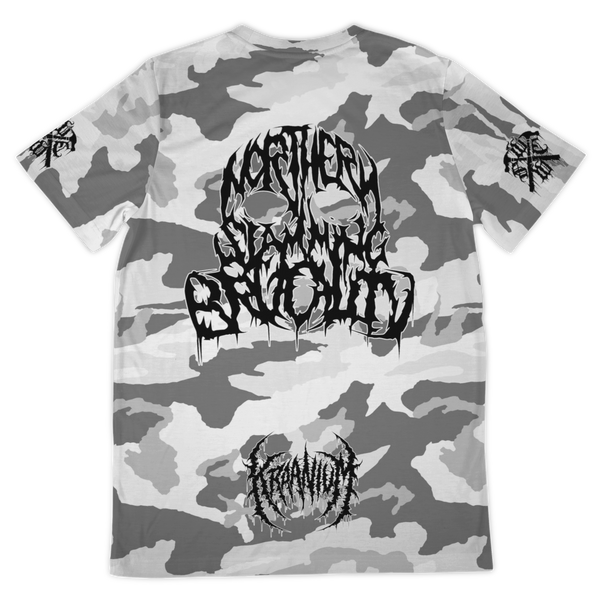 "Officially Licensed Kraanium ""Snow Camo"" Tee"