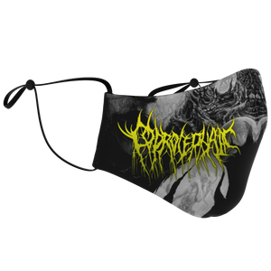 Officially Licensed Coprocephalic The Oath Of Relinquishment Mask (Grayscale)