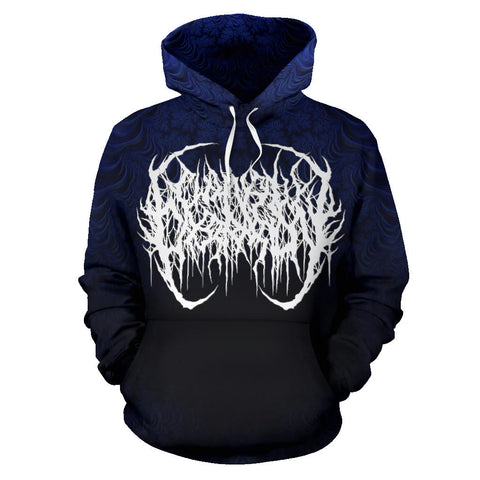 Officially Licensed Chainsaw Castration - Doping In The Void All Over Hoodie