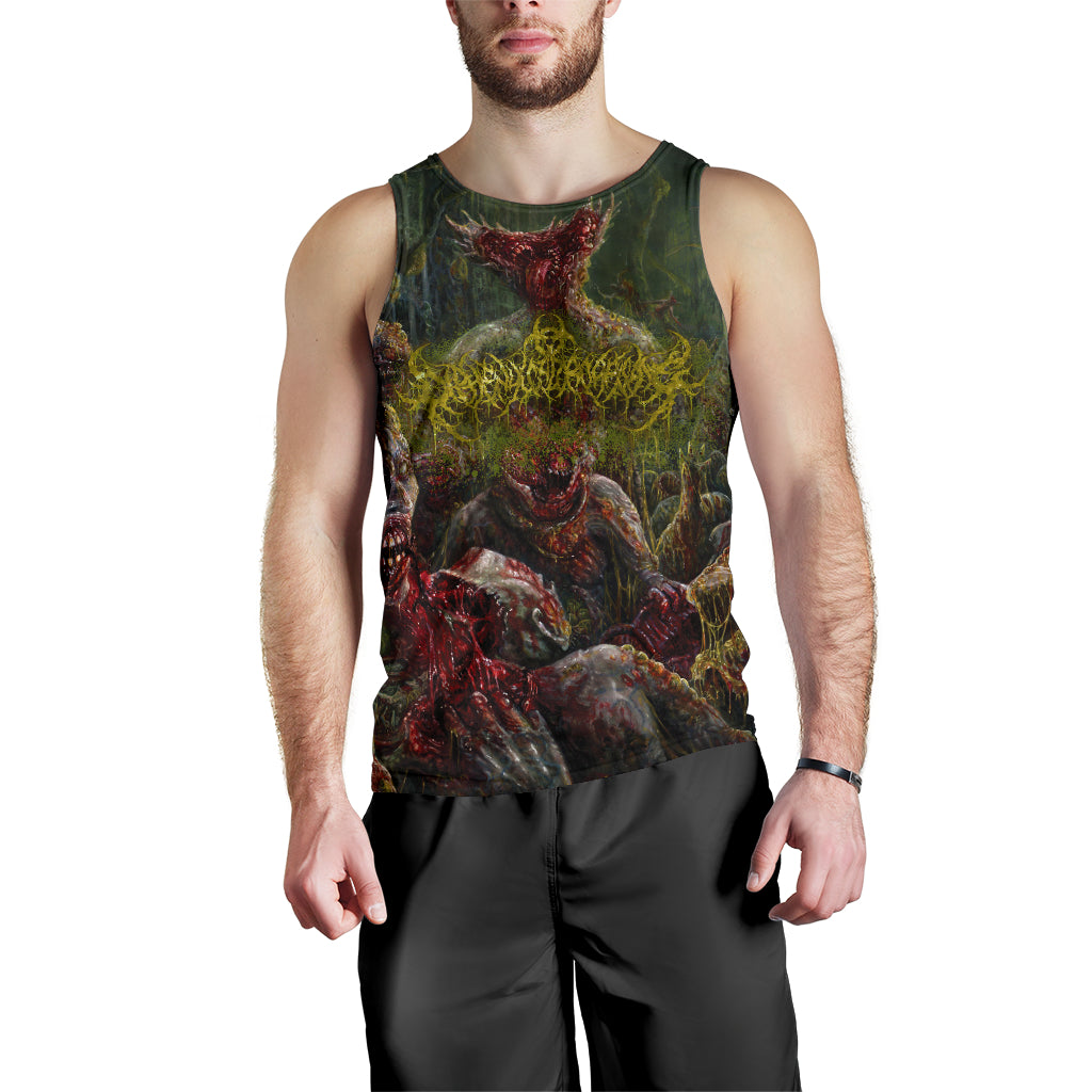 Officially Licensed Diphenylchloroarsine - Post Apocalyptic Human Annihilation Tank Top