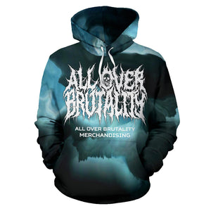 Official All Over Brutality Clouds Hoodie (Blue)