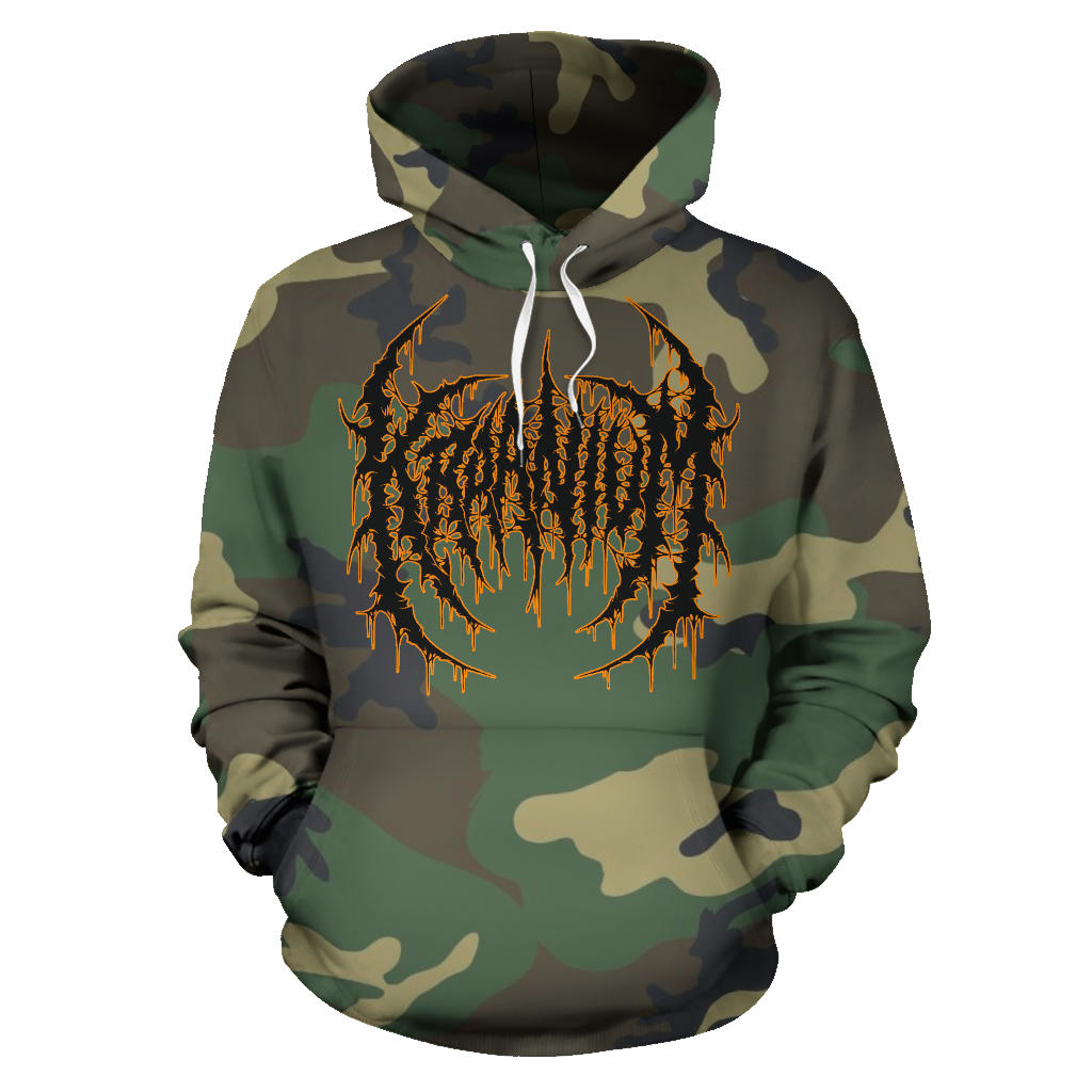 Officially Licensed Kraanium Woodland Camo Hoodie
