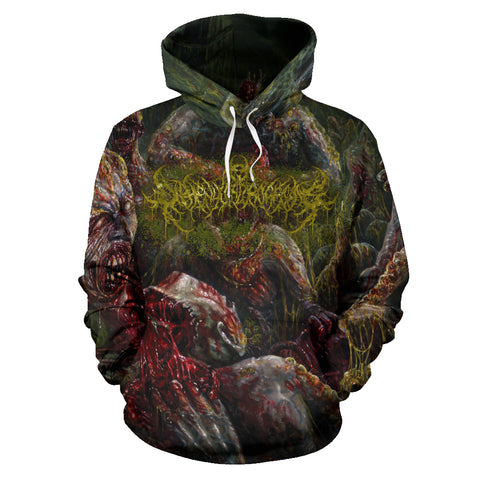 Officially Licensed Diphenylchloroarsine - Post Apocalyptic Human Annihilation All Over Hoodie