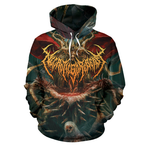 Officially Licensed NecroticGoreBeast All Over Hoodie