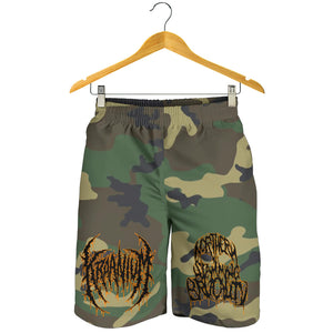 Officially Licensed Kraanium Camo Shorts (Woodland)