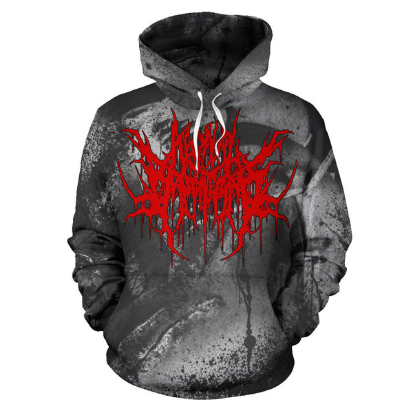 Officially Licensed Agonal Breathing - Pure Agony All Over Hoodie