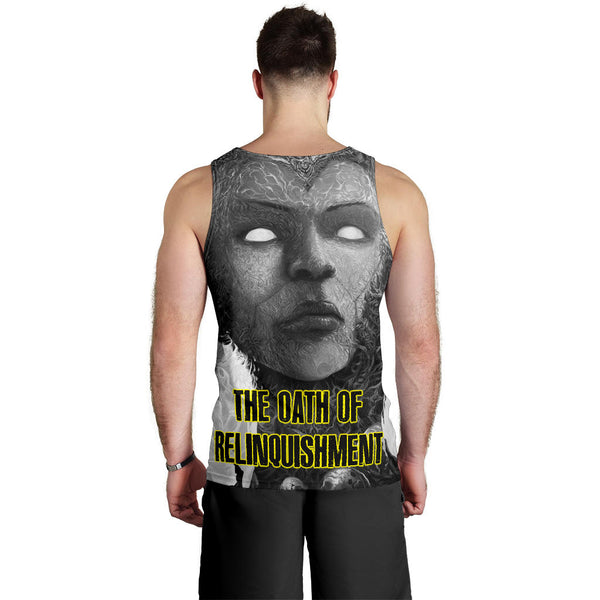 Officially Licensed Coprocephalic The Oath Of Relinquishment Tank Top (Grayscale)