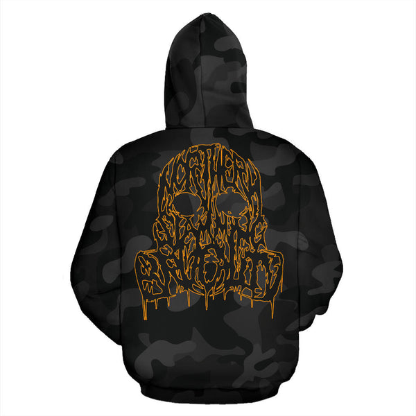 Officially Licensed Kraanium Black Camo Hoodie