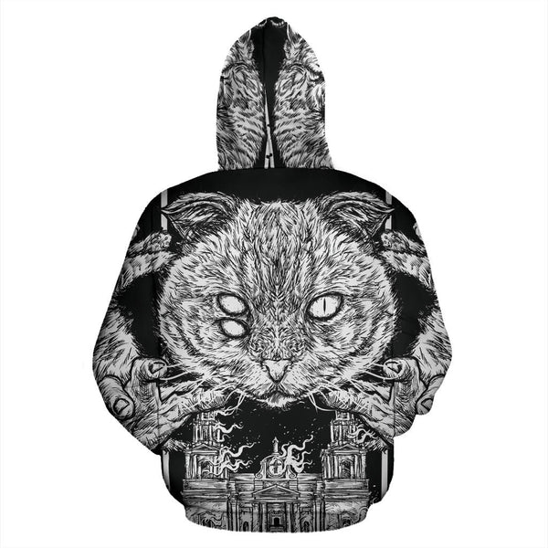 Officially Licensed Litterbox Massacre All Over Hoodie