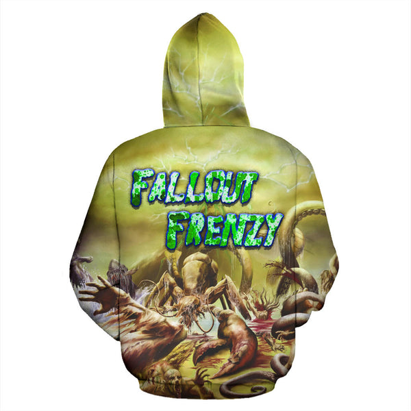Officially Licensed Atoll - Fallout Frenzy All Over Hoodie