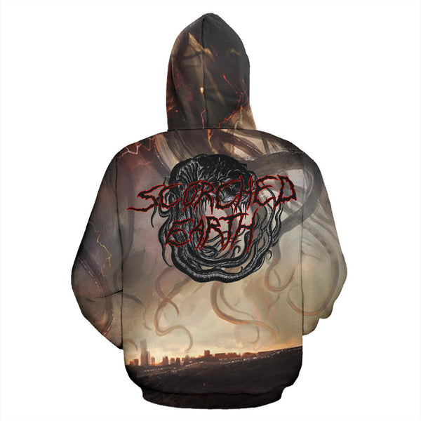 Officially Licensed Kill Everything - Scorched Earth All Over Hoodie