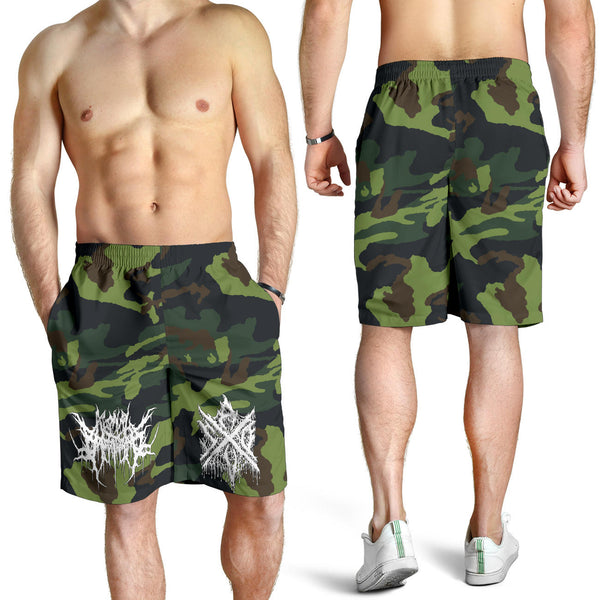Officially Licensed Agonal Breathing Green Camo Shorts