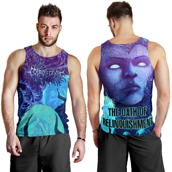 Officially Licensed Coprocephalic The Oath Of Relinquishment Tank Top