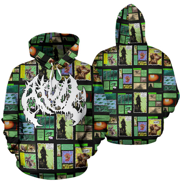 Officially Licensed Atoll Comic All Over Hoodie