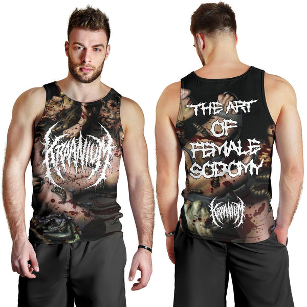 Officially Licensed Kraanium - The Art Of Female $odomy Tank Top