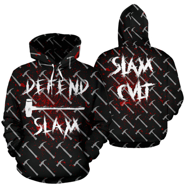 Official DEFEND SLAM All Over Hoodie