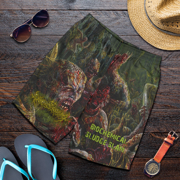 Officially Licensed Diphenylchloroarsine - Post Apocalyptic Human Annihilation Shorts