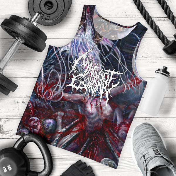 Officially Licensed Maggot Colony - Perpetuating The Viral Infestation Tank Top