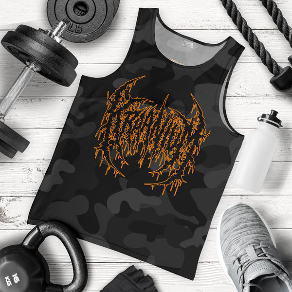 Officially Licensed Kraanium Black Camo Tank Top