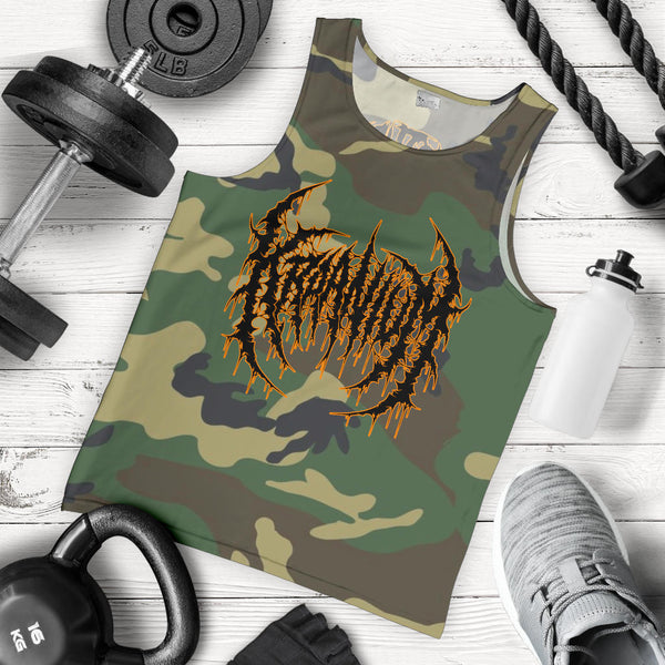 Officially Licensed Kraanium Woodland Camo Tank Top