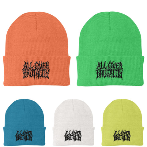 Official All Over Brutality Color Beanies