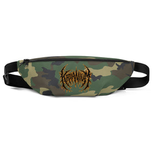 Officially Licensed Kraanium Camo Fanny Pack (Woodland)
