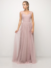 Load image into Gallery viewer, The Ella Tulle Maxi Bridesmaid Dress