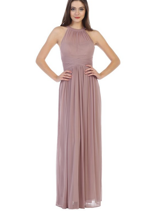 Noreen Soft Chiffon Maxi Dress