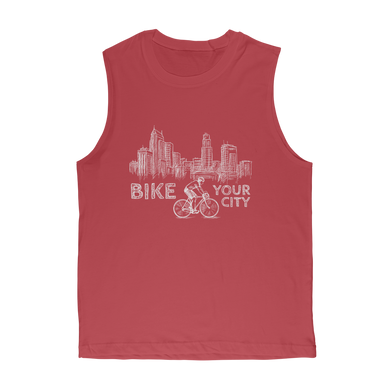 Bike Your City Premium Adult Muscle Top