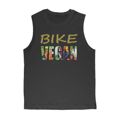 BIKE VEGAN Classic Adult Muscle Top