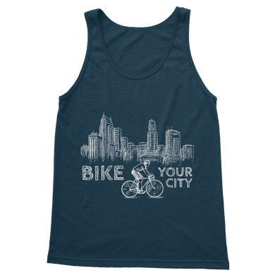 Bike Your City Classic Adult Vest Top