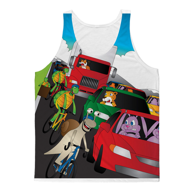 Bike Culture Classic Sublimation Adult Tank Top