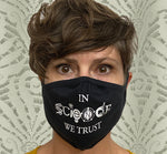 In Science We Trust Cloth Reusable Face Mask Adult and Youth