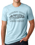 Think Out Loud Apparel Morning Wood Lumber Company Funny T-shirt Humor tee