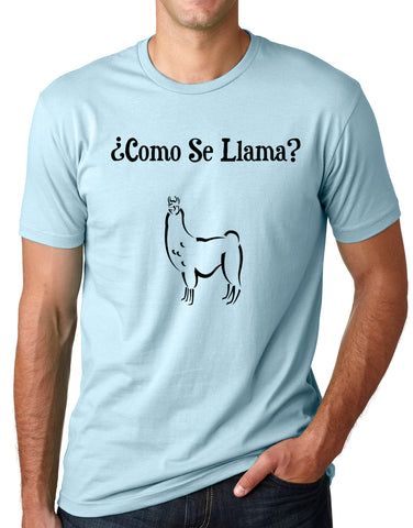 Think Out Loud Apparel Como Se Llama Funny T-shirt Spanish Humor Tee