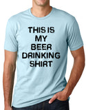 Think Out Loud Apparel This is My Beer Drinking Shirt Funny T Shirt Bar Humor Tee