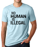 Think Out Loud Apparel No Human Is Illegal Humanitarian t shirt immigration Tee