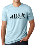 Think Out Loud Apparel Zombie Evolution Funny T-Shirt Humor tee
