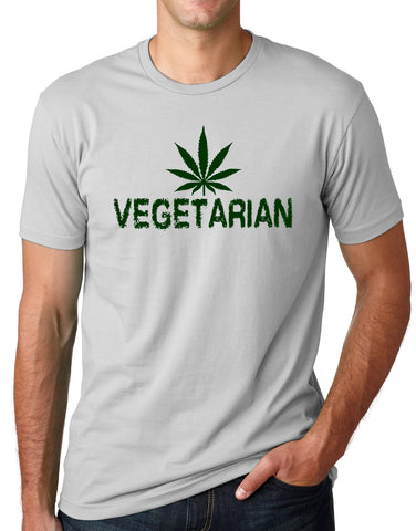 Think Out Loud Apparel Marijuana Vegetarian Funny Marihuana Shirt Cannabis Humor