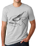 Think Out Loud Apparel Acoustic Guitar T-shirt Cool Musician Tee T Shirt